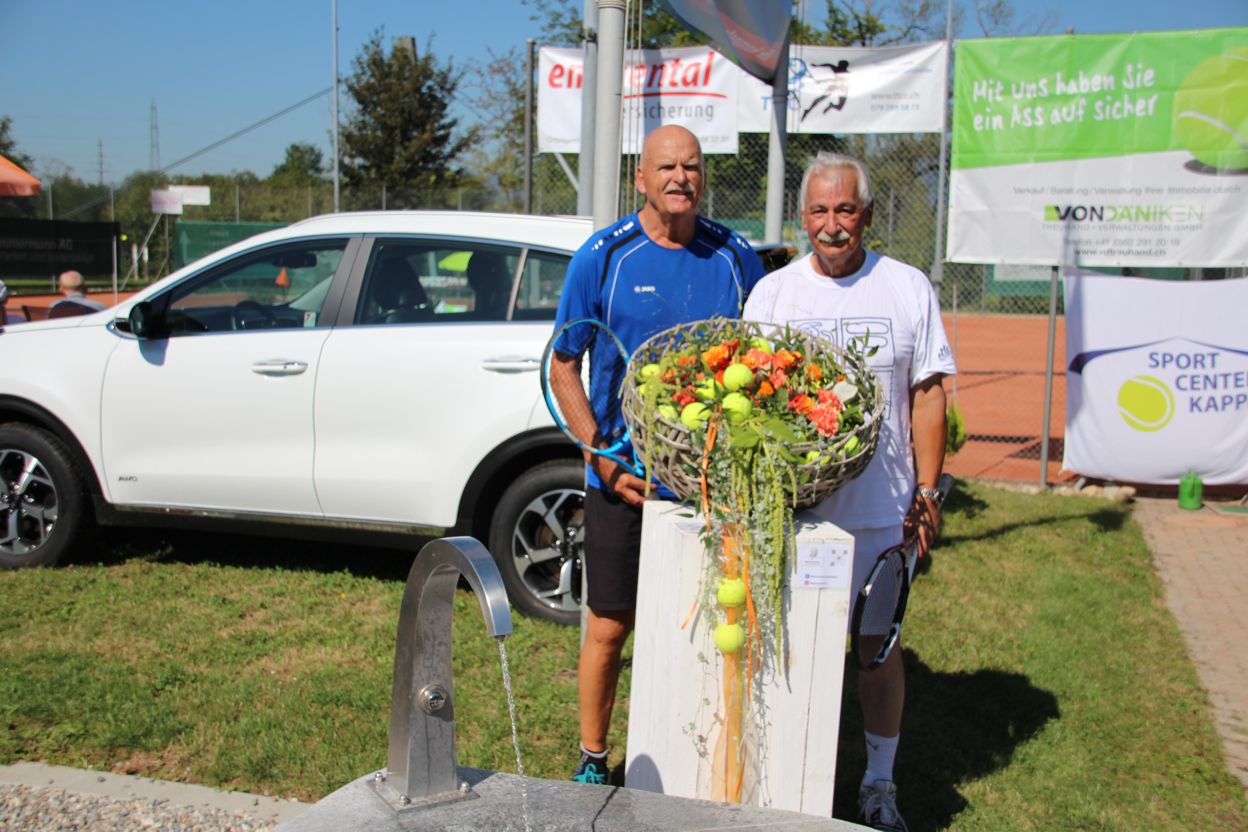 Raiffeisen Open im Bally-Park 2020 - Sieger/innen und Finalisten/innen