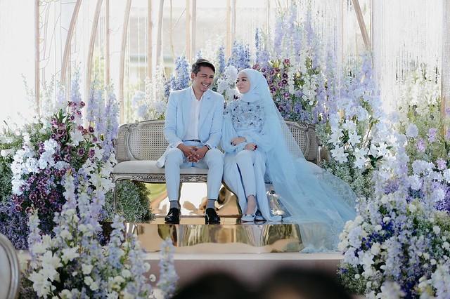 Sekitar Majlis Resepsi Kedua Mira Filzah & Wan Emir Bertemakan dalam Taman