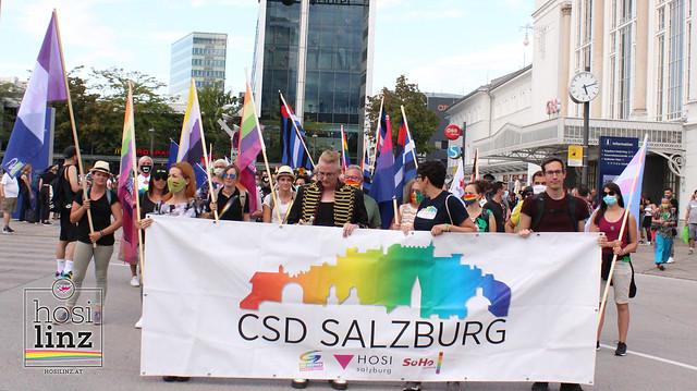 05.09.2020: HOSI Linz beim CSD in Salzburg