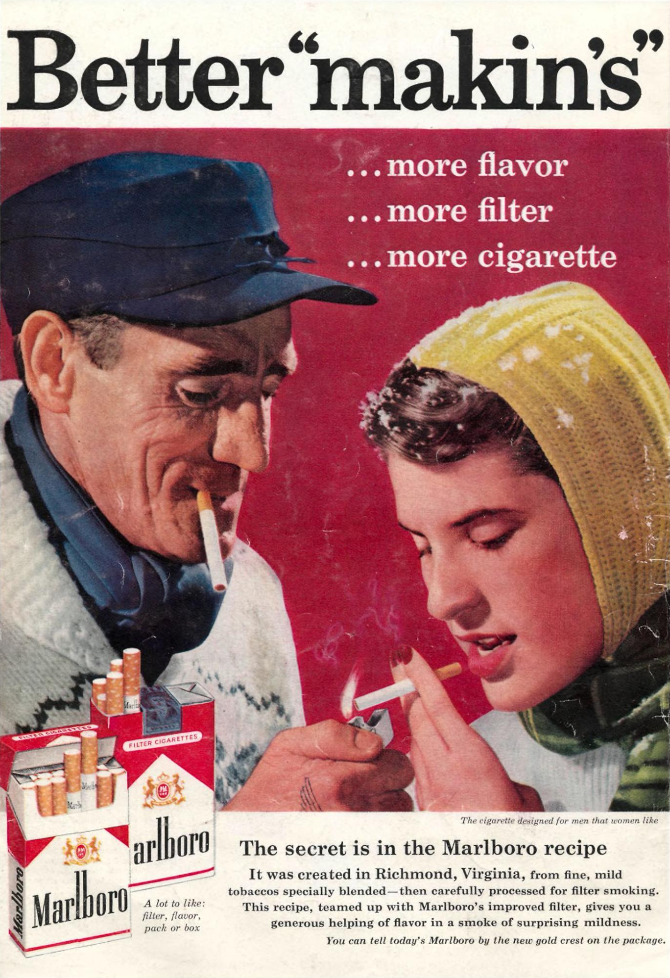 Marlboro - published in Sports Illustrated - December 22, 1958