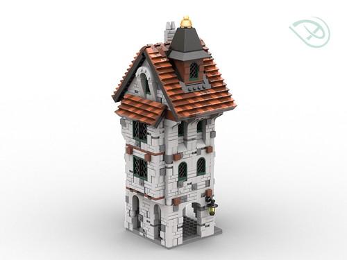 LEGO Medieval building #2
