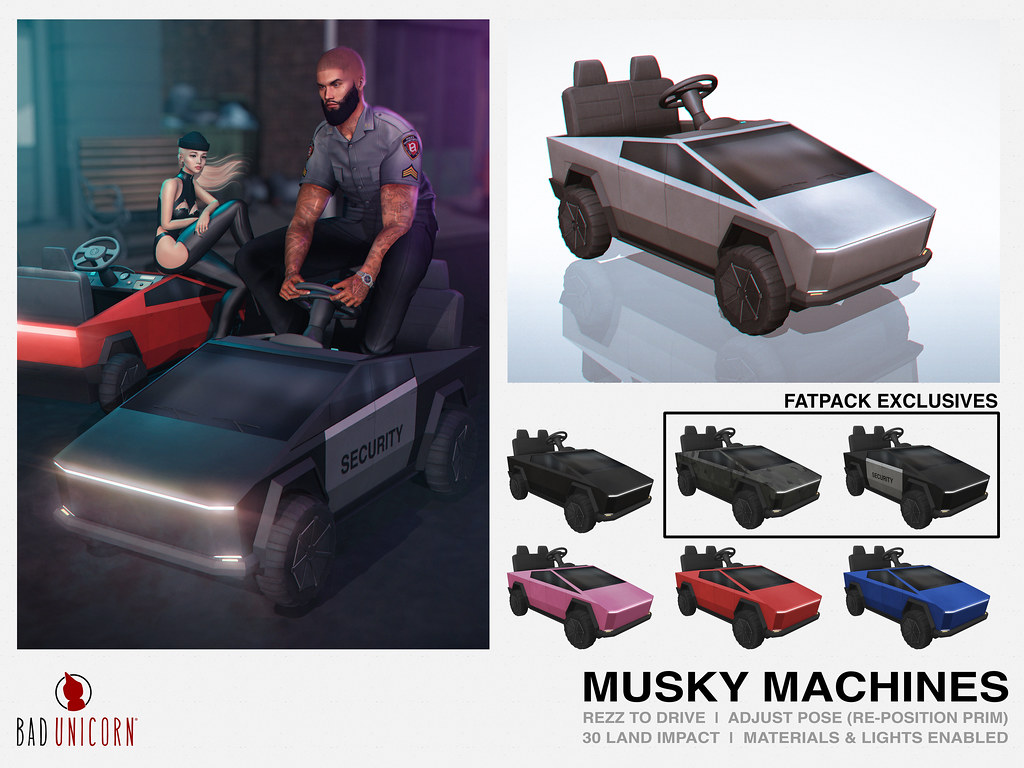 NEW! Musky Machines @ TMD