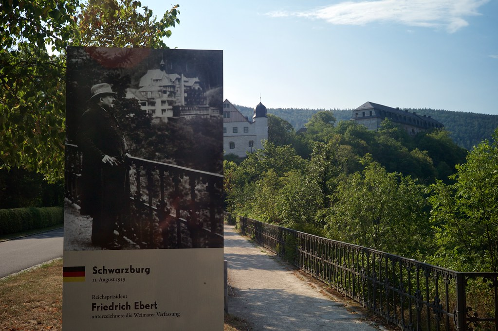 Promenade in Schwarzburg