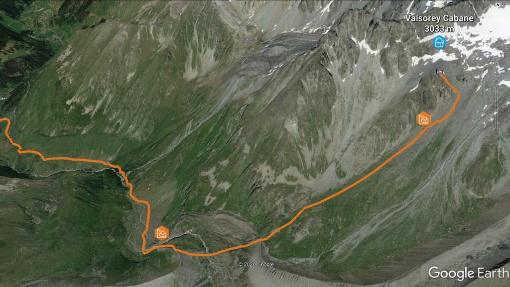 Bourg St.P.-Valsorey, Day3 H.R.Chamx-Zermatt Walliser Alpen / Alpes valaisannes Switzerland photo 02