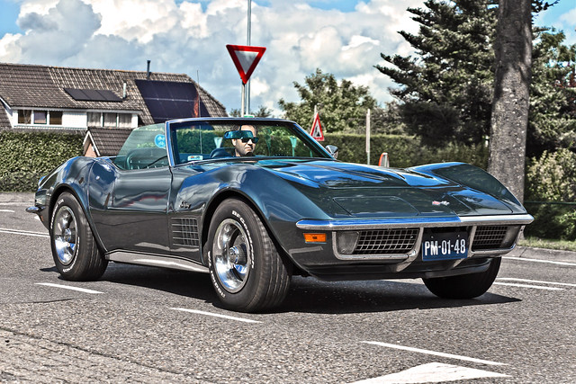 Chevrolet Corvette C3 Stingray Convertible 1970 (1478)