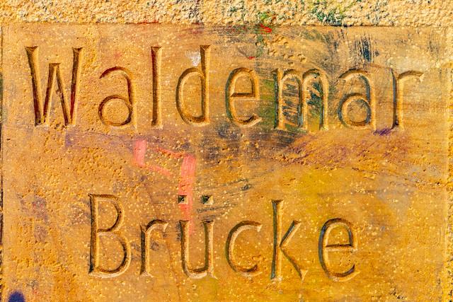Die Waldemar-Brücke