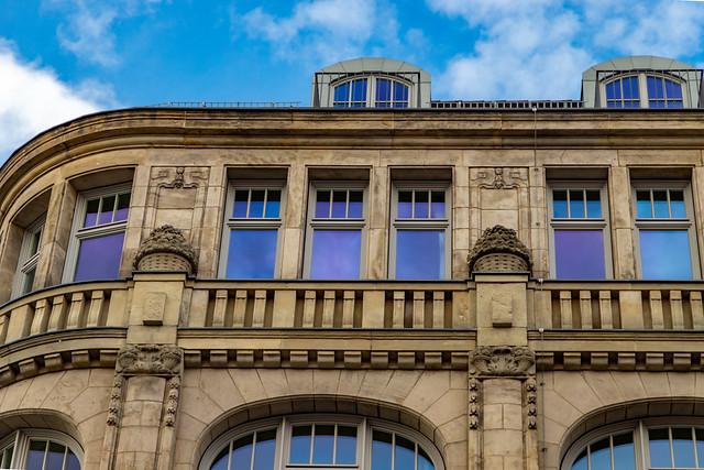 Das ehemalige Kaufhaus Brenninkmeyer am Oranienplatz