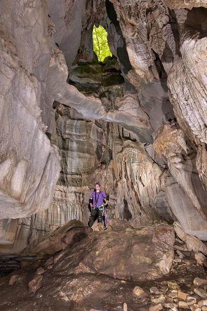 Kelli Lewis, Robinson Cave twilight, Overton County, Tennessee