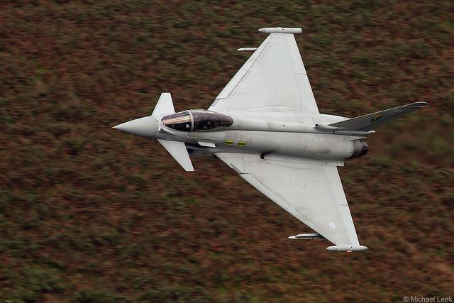 RAF Eurofighter Typhoon FGR4, ZJ921/QO-H; 3 (F) Squadron, RAF Conningsby, Lincolnshire, England