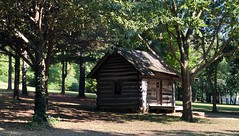 Potteiger & Washington cabin in Jo Allyn Lowe Park
