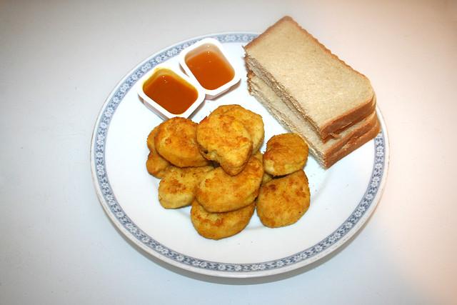 Chicken Nuggets - Served