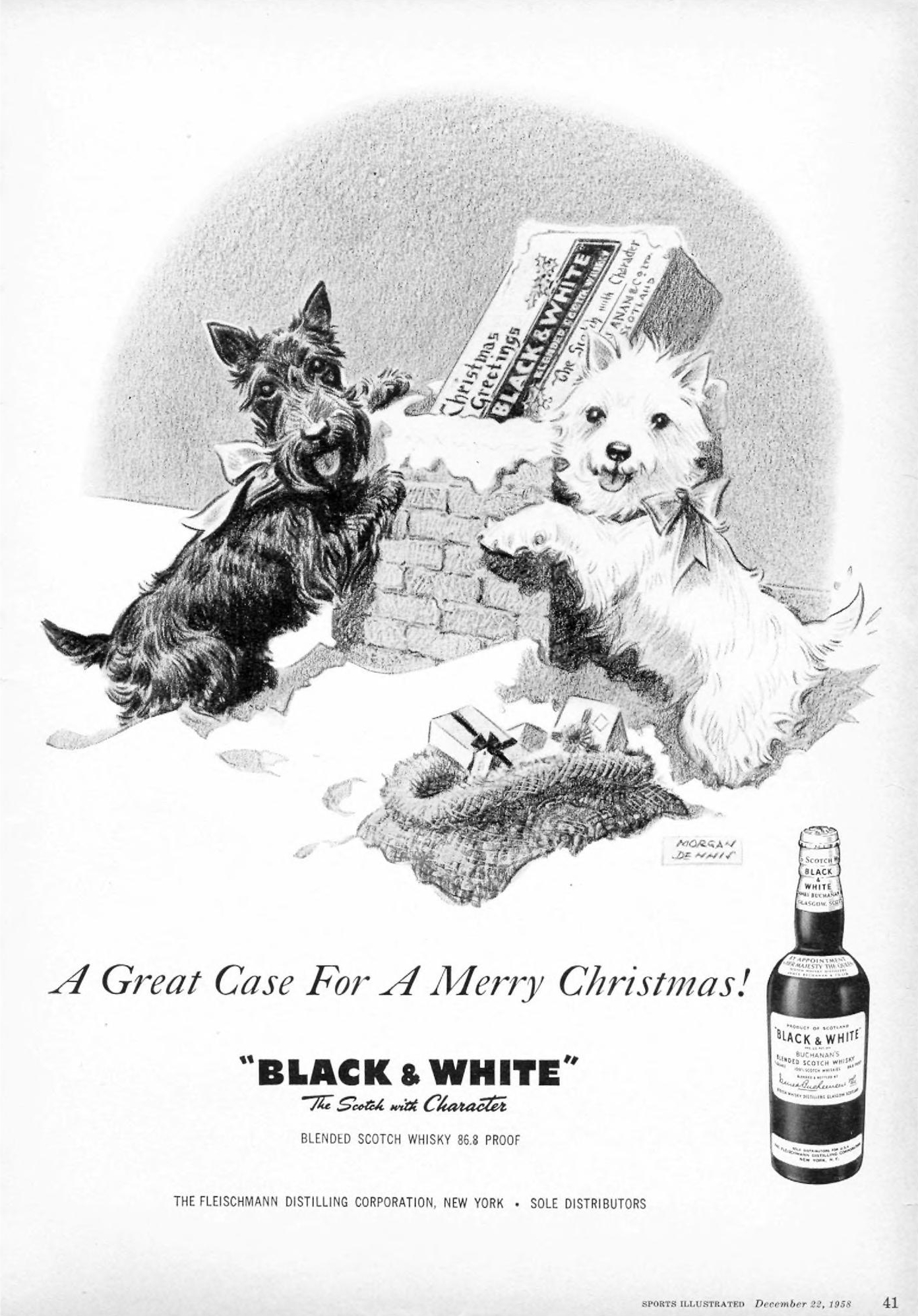 Black and White - published in Sports Illustrated - December 22, 1958