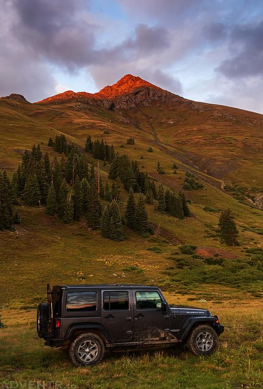 Below Mountaineer Peak