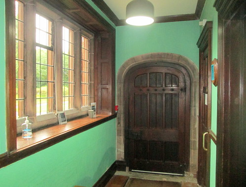 Gladstone's Library, Corridor + Door to Theology Room