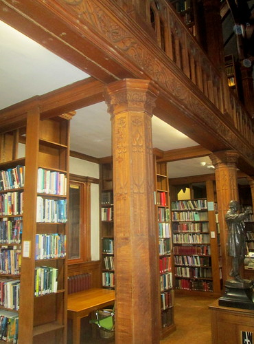Gallery Support,  Theology Room, Gladstone's Library,