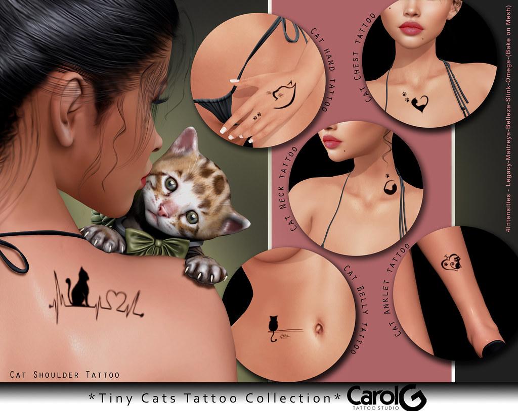 Tiny Cats TaTToo [CAROL G]