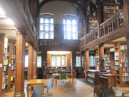 Book Racks and Windows, Theology Room, Gladstone's Library