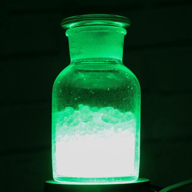 Gekleurd flesje