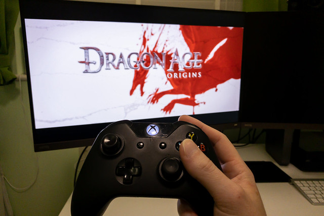 Played Dragon Age Origins on the Xbox One today