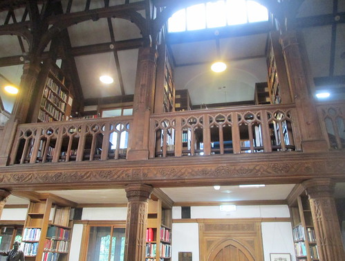 Upper Floor,  Theology Room, Gladstone's Library,