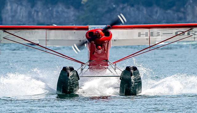 OffAirport Hergiswil / Private / Piper PA-18 150 Super Cub / HB-ORK