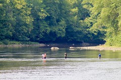 Enjoying the Clarion River