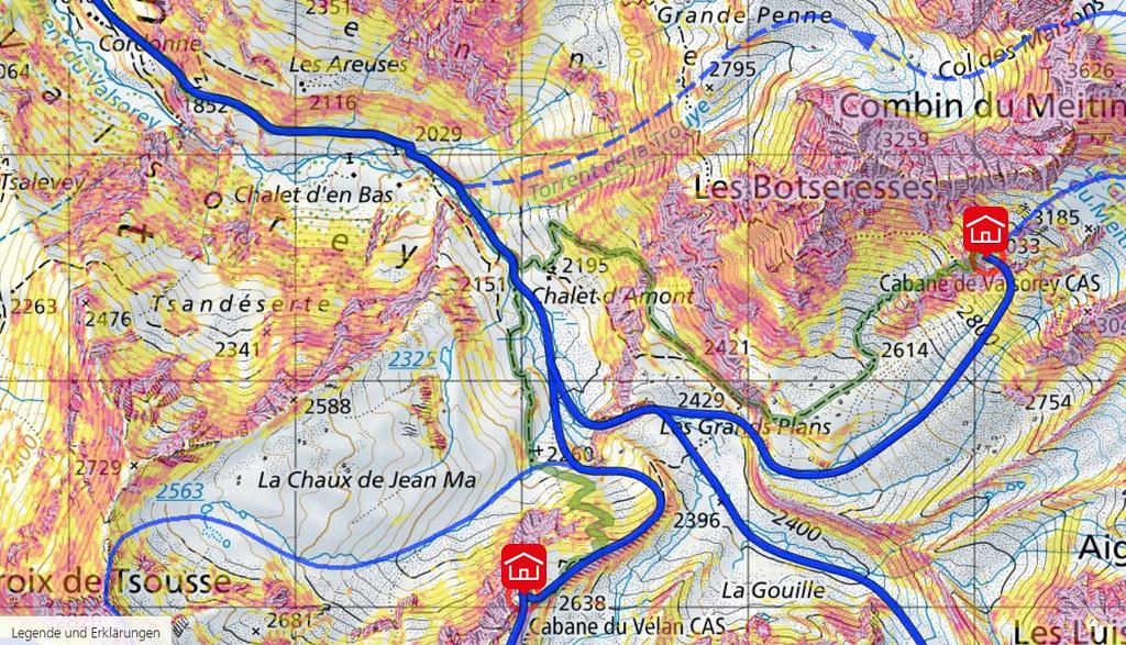 Bourg St.P.-Valsorey, Day3 H.R.Chamx-Zermatt Walliser Alpen / Alpes valaisannes Switzerland photo 04
