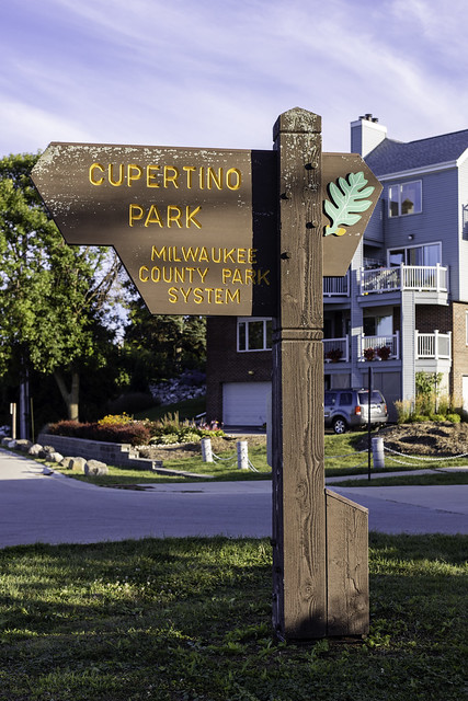 Cupertino Park Sign 2