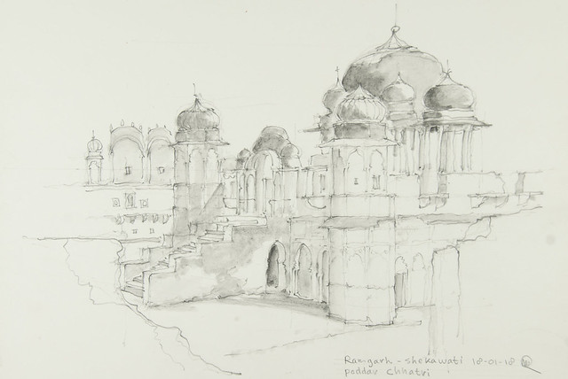 Ramgarh - Poddar Chhatri