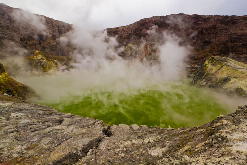 Whakaari volcanic pool