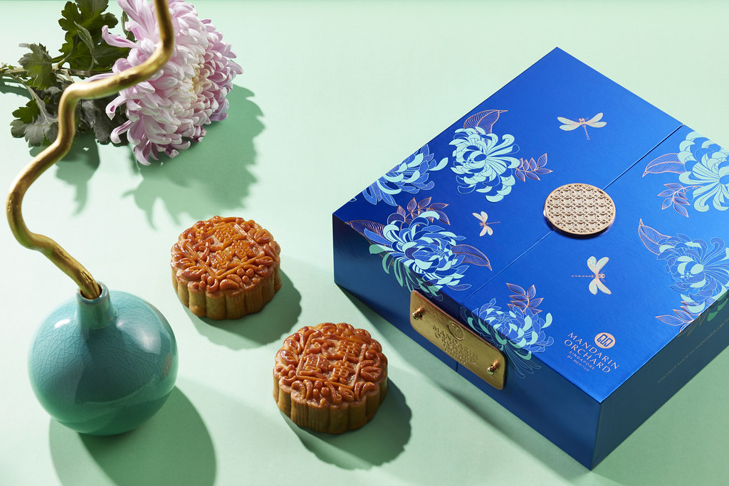 Mandarin Orchard  Double Yolk Baked Mooncake (With Box)