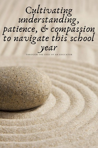 Through the Eyes of an Educator: Cultivating understanding, patience, & compassion to navigate this school year