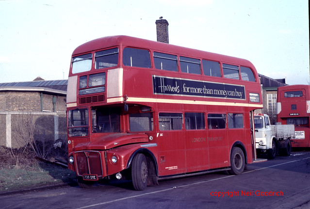 Bus Sales at the former AEC factory site