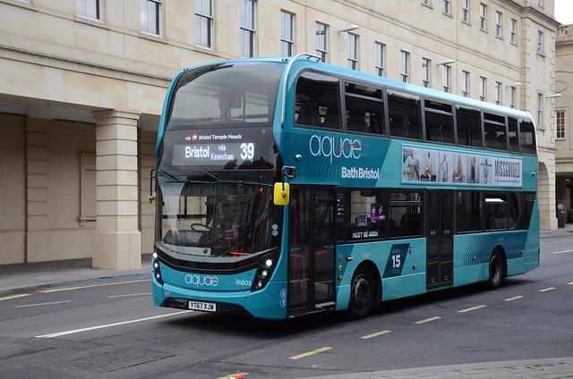 Aquae YT67 XJW, Bath