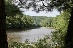 Clarion River, upstream from Clear Creek State Park