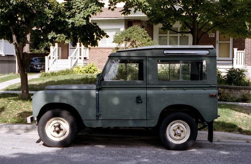 Vintage Land Rover I