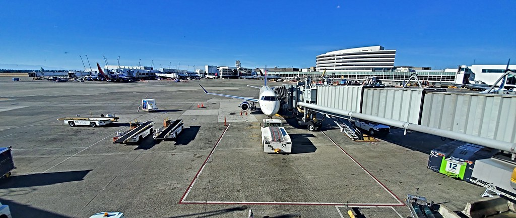 Flying out of Seattle–Tacoma International Airport