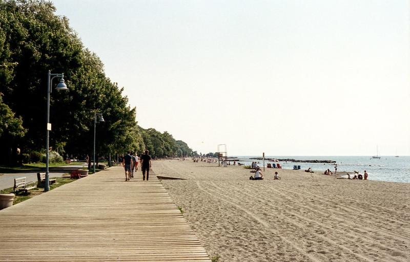 Midweek Morning on the Boardwalk_