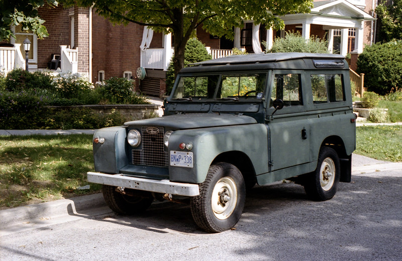 Vintage Land Rover 2