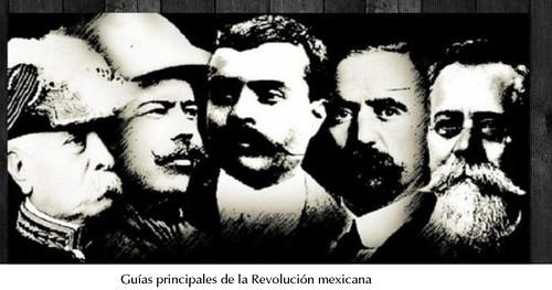 Líderes Revolución mexicana