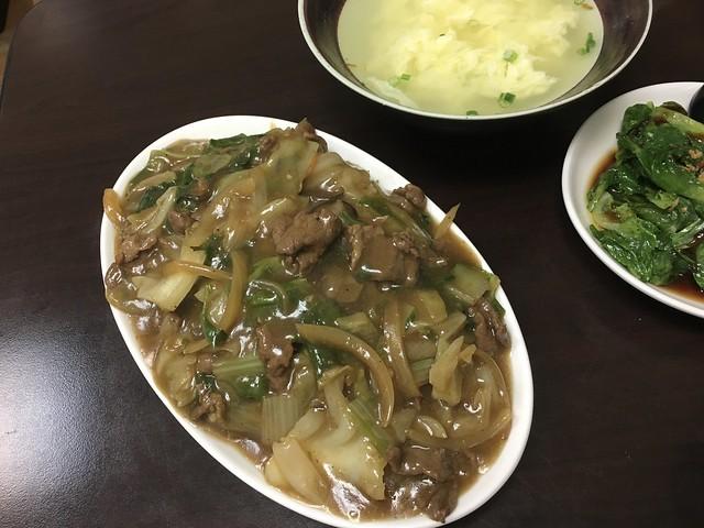 牛肉燴飯 (NTD$80)@河馬屋炒麵炒飯