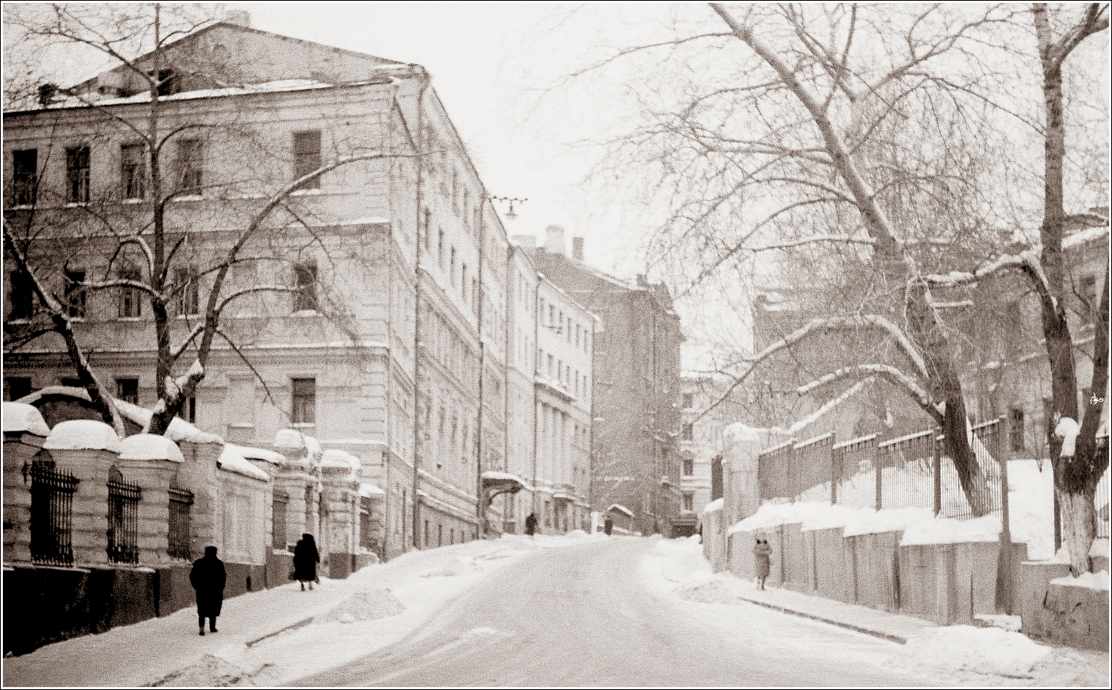76. 1964. Старосадский пер., декабрь