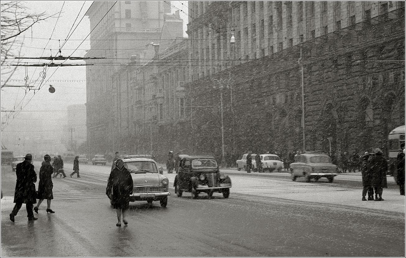 70. 1963. Тверская