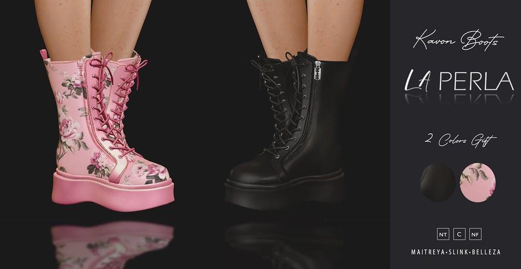 {LP} – Kavon Boots $1L