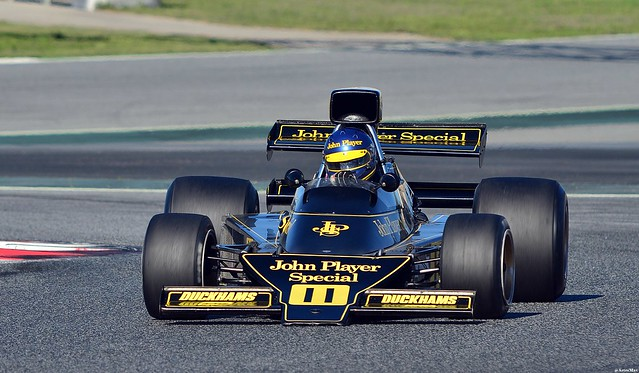 Lotus 761  ( Ronnie Peterson ) Andrew Beaumont