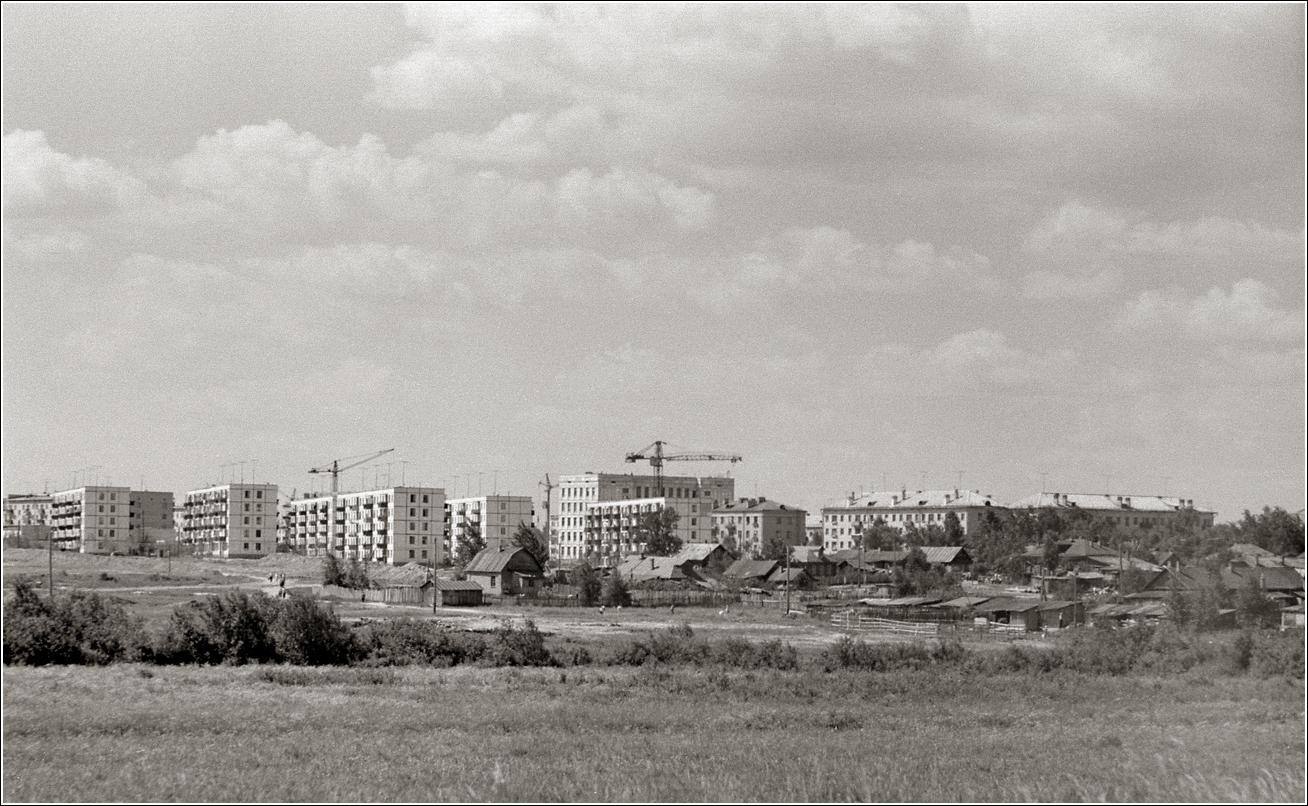 82. 1964. Район 11–13 Парковых, выходящих к Щелковскому шоссе на уровне Кожевенного заводика