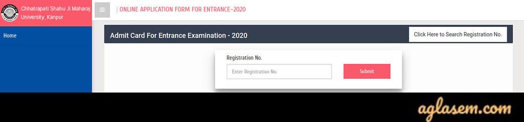 Kanpur University 2020 Admit Card Download