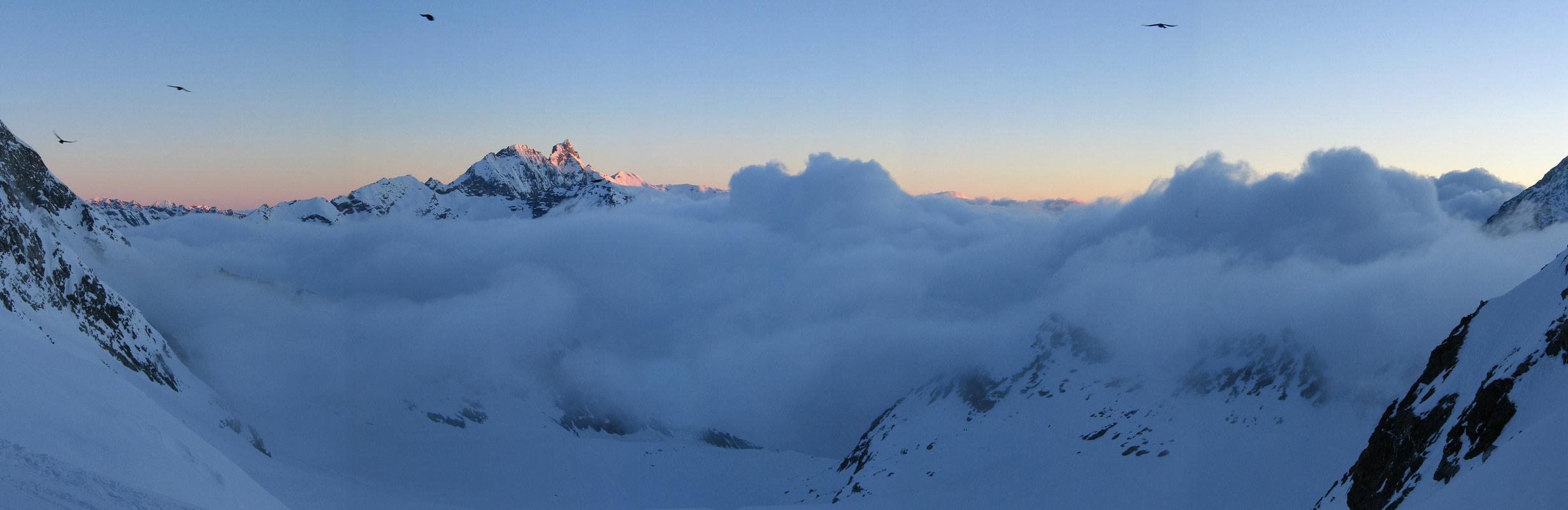 Col Valpelline, Day 6 H.R. Chamonix-Zermatt Walliser Alpen / Alpes valaisannes Švýcarsko panorama 18
