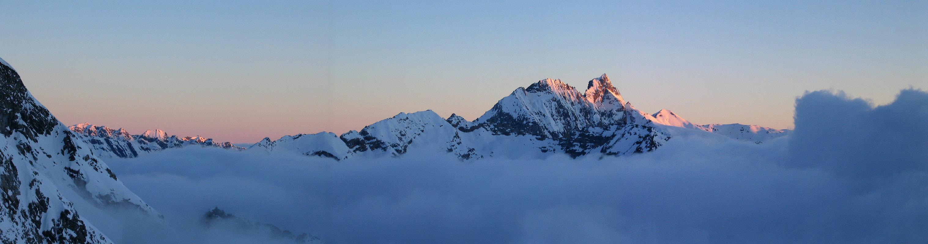 Col Valpelline, Day 6 H.R. Chamonix-Zermatt Walliser Alpen / Alpes valaisannes Švýcarsko panorama 13