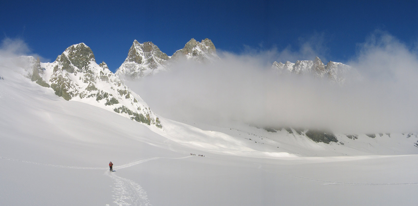 Col Valpelline, Day 6 H.R. Chamonix-Zermatt Walliser Alpen / Alpes valaisannes Schweiz panorama 31